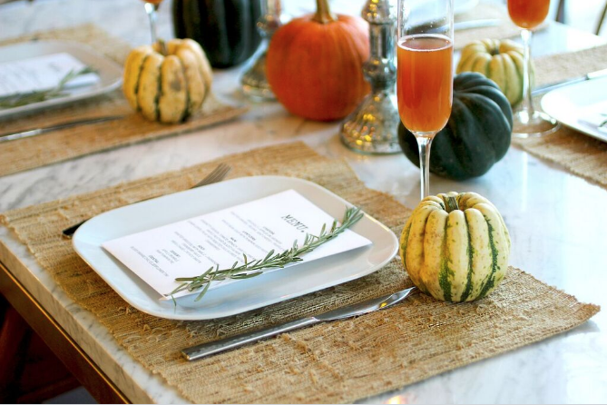 Early Bird Thanksgiving Prep List + Timeline