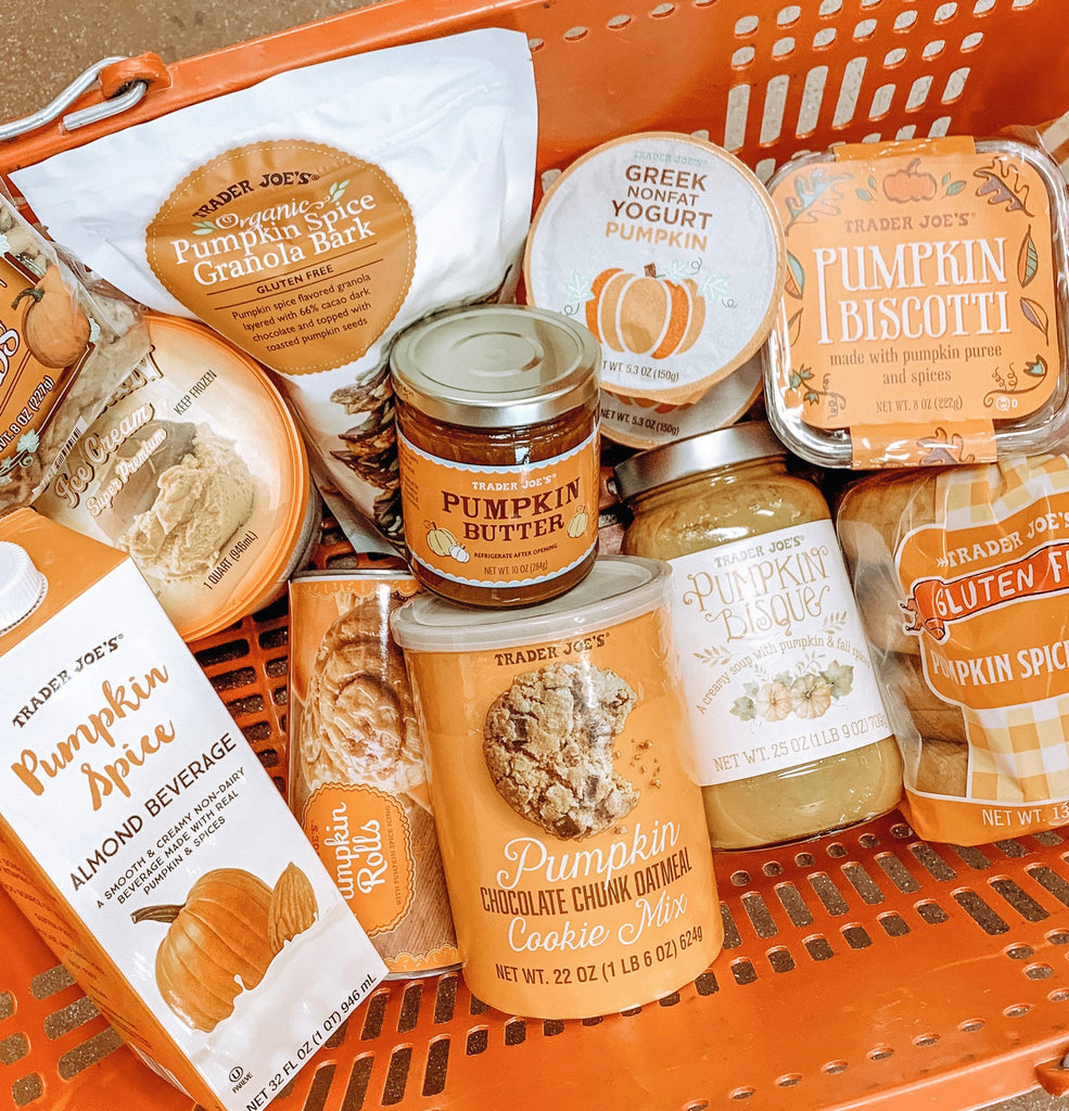 Purely Team Reviews Trader Joe's Pumpkin Products