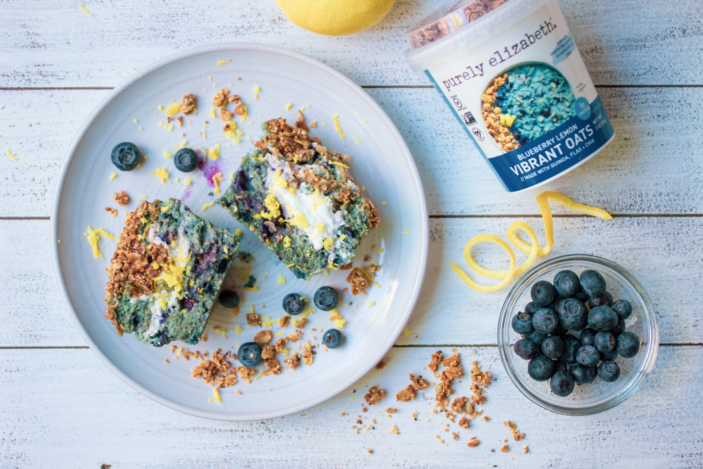Blueberry Lemon Oat Muffin