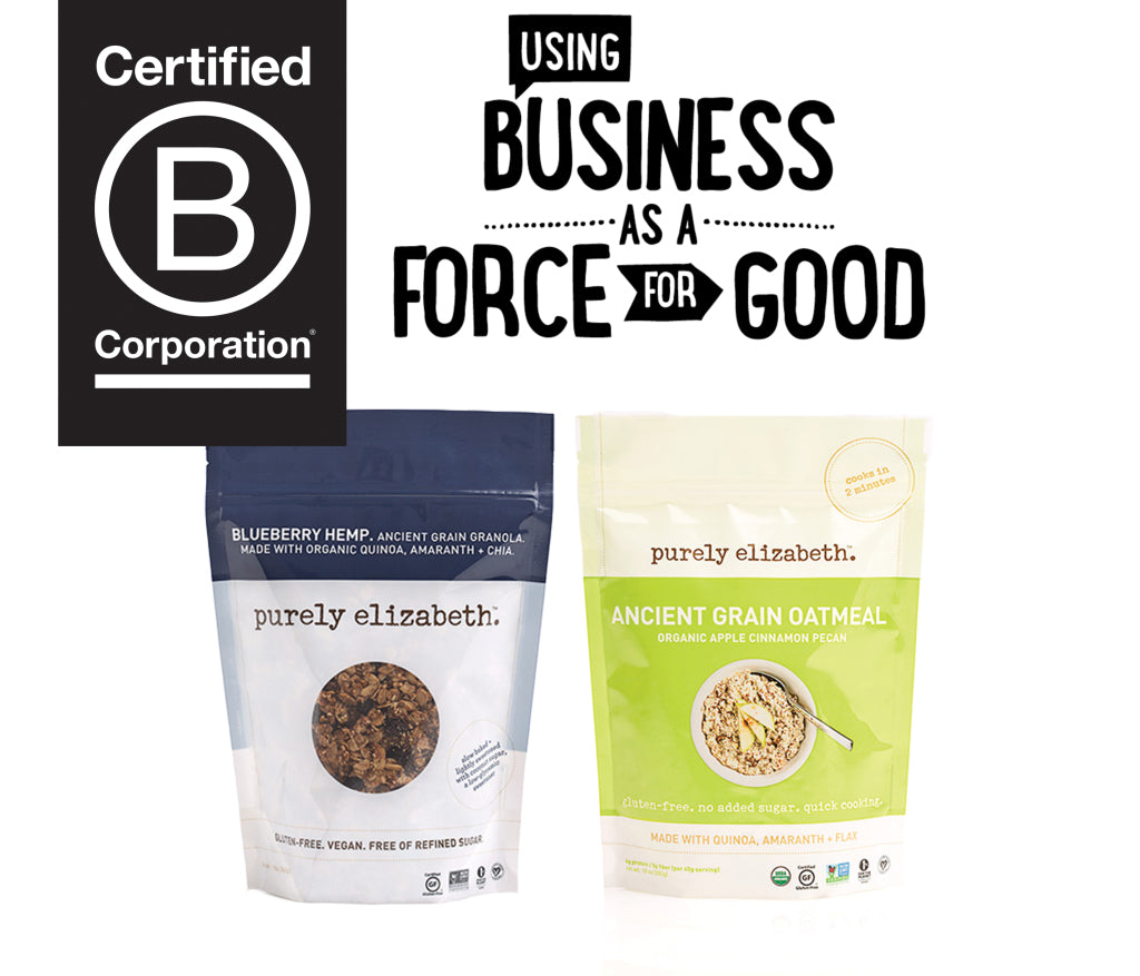 Now Certified B Corp!