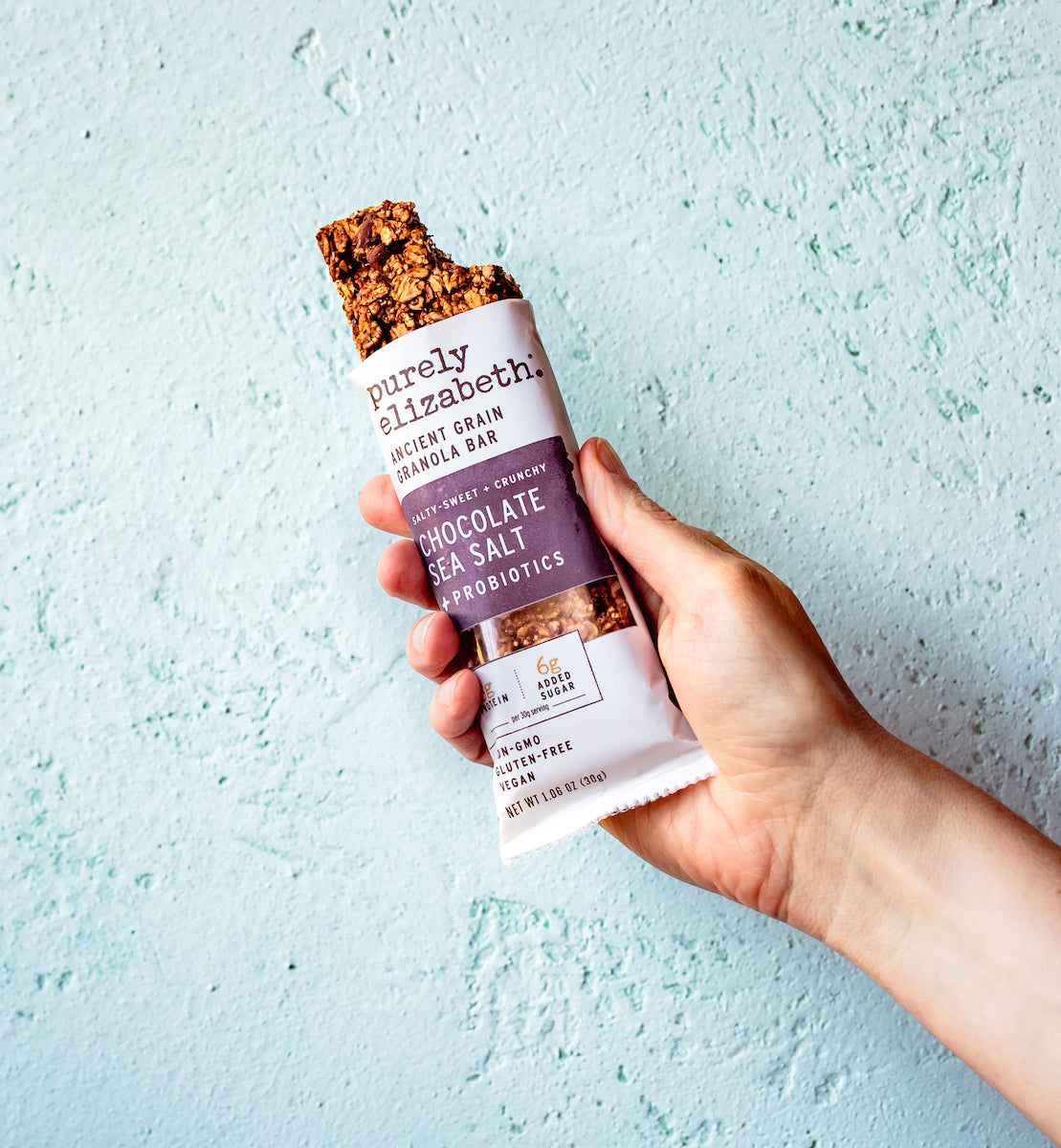 Chocolate Sea Salt Ancient Grain Granola Bars