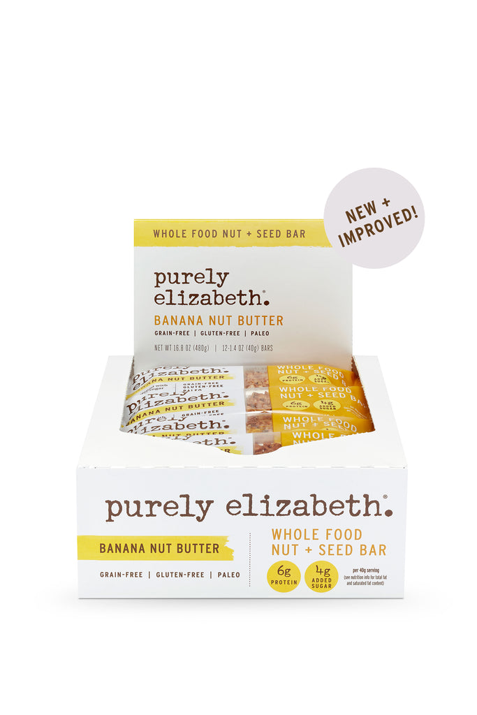 Banana Nut Butter Whole Food Nut + Seed Bar