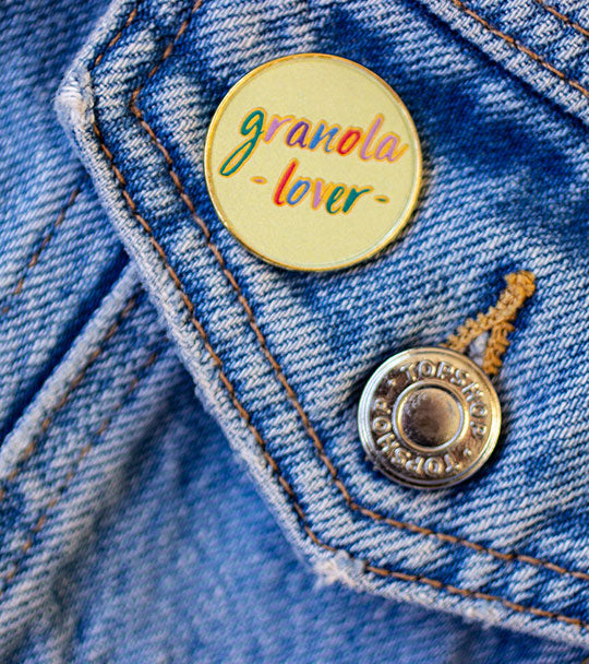 Granola Lover Pin
