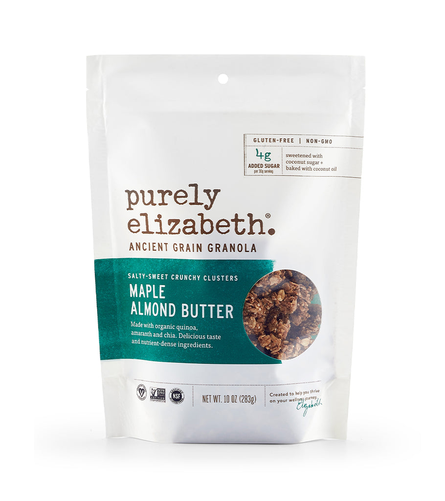 Maple + Almond Butter Nut Butter Granola
