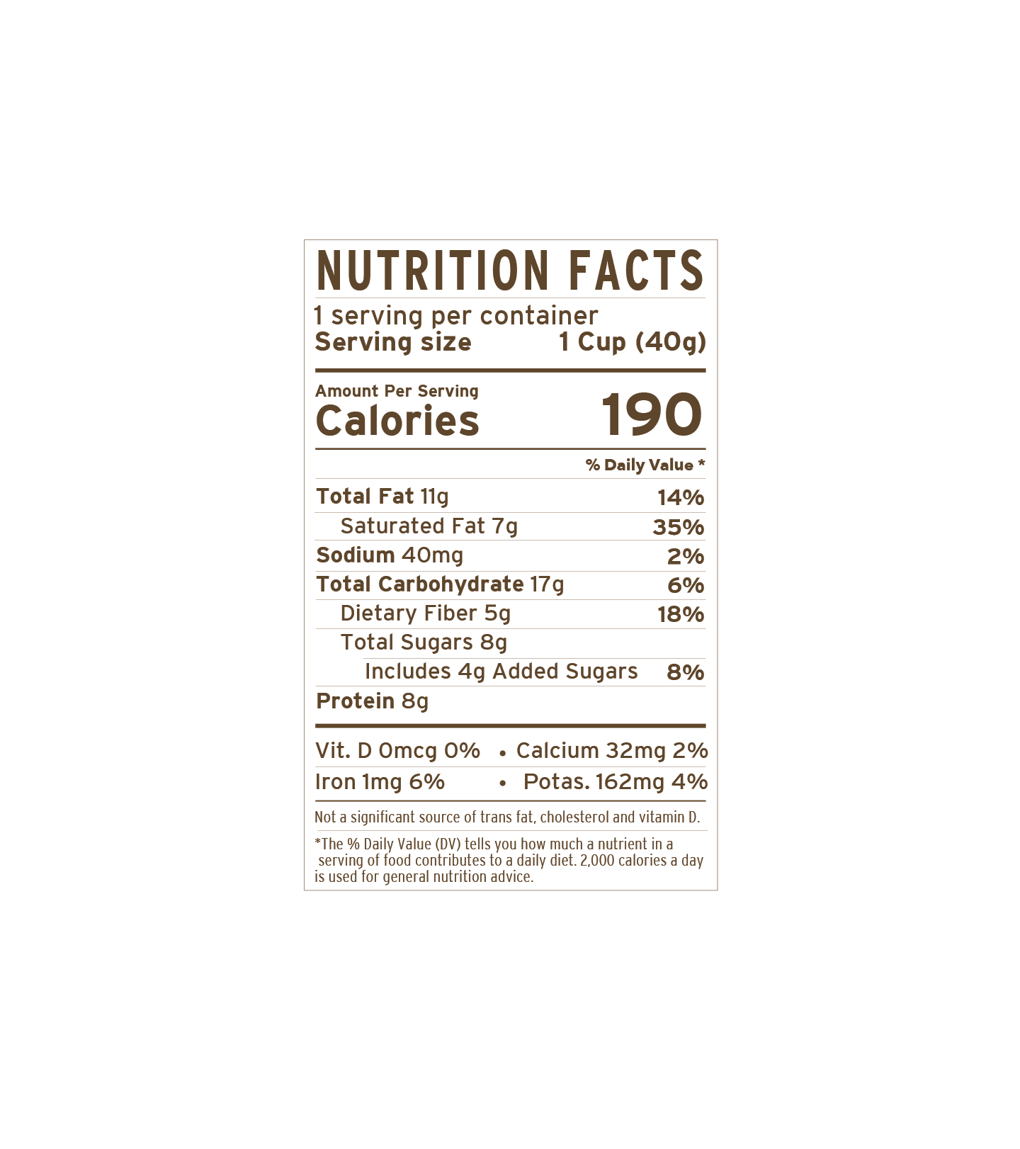 Strawberry Cup | nutritional-facts