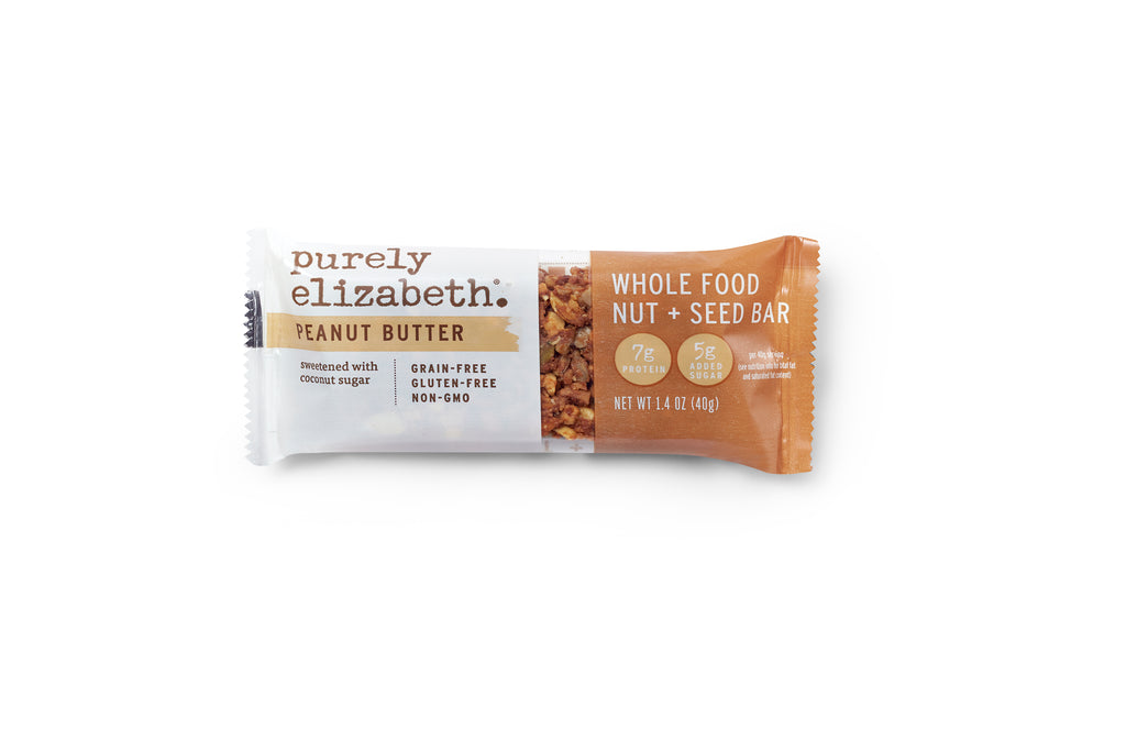 Peanut Butter Whole Food Nut + Seed Bar