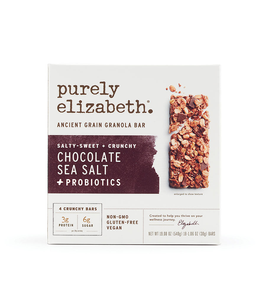 Purely Elizabeth Chocolate Sea Salt Ancient Grain Granola Bar