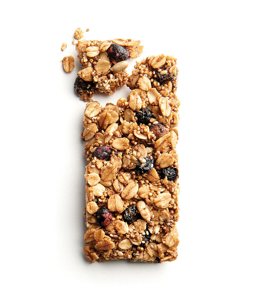Blueberry Hemp Ancient Grain Granola Bar