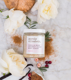 Vanilla Rose Coconut Sugar Body Scrub