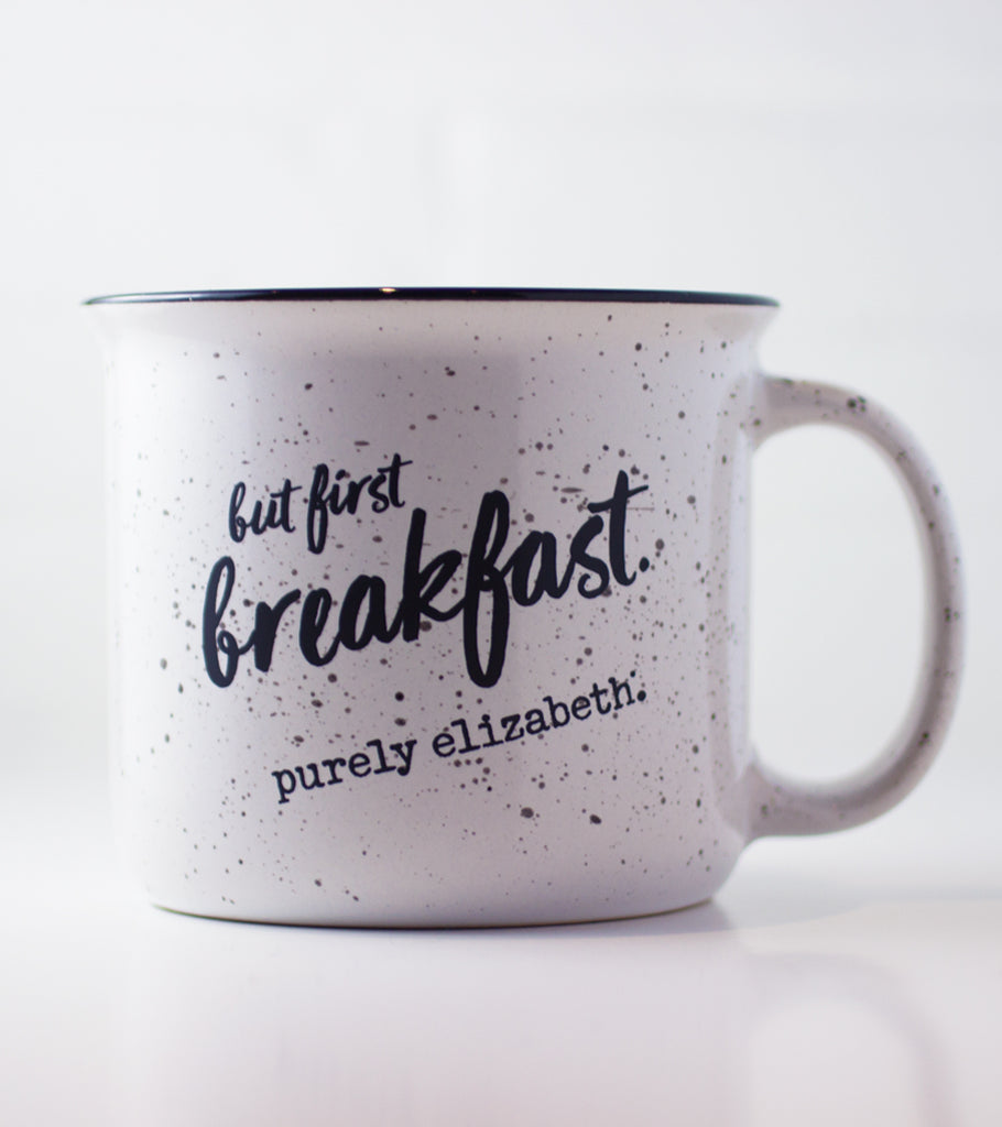 """But First Breakfast"" Mug"
