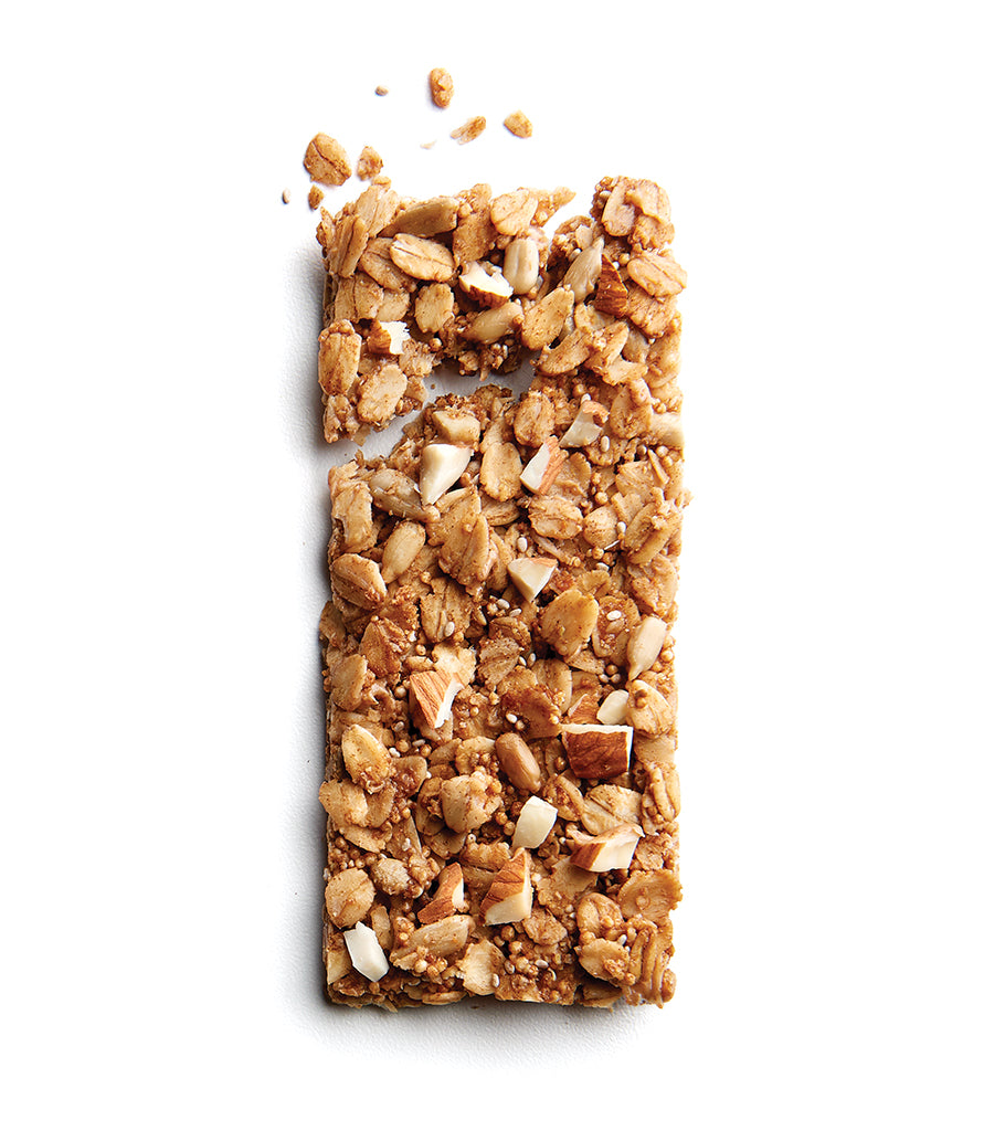 Vanilla Almond Butter Ancient Grain Granola Bars
