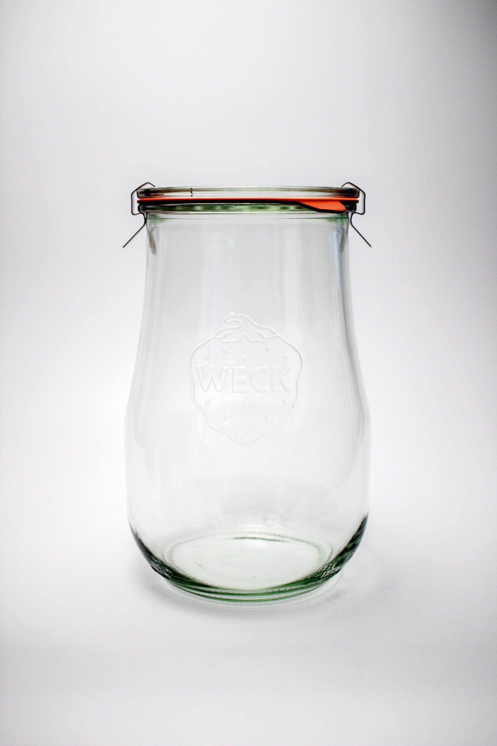 Keep your granola fresh in these glass Weck Tulip Jars!