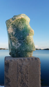Facing Time, Scott King, Mexican Fluorite