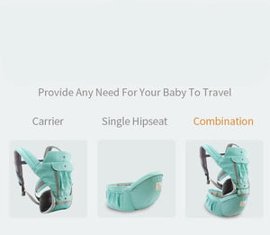 Baby Carrier Adjustable Ergonomic Baby Carrier Bag Hipseat Sling Wraps