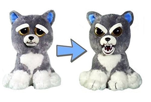 Feisty Pets Funny Face Changing Soft Toys