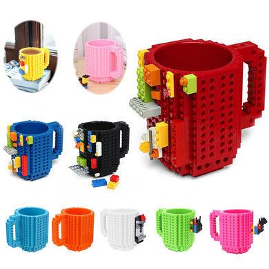 Creative Build-On-Bricks Cup- Building Blocks Creative Coffee Cup(50% Off & Free shipping worldwide) - Wonder-mart.com
