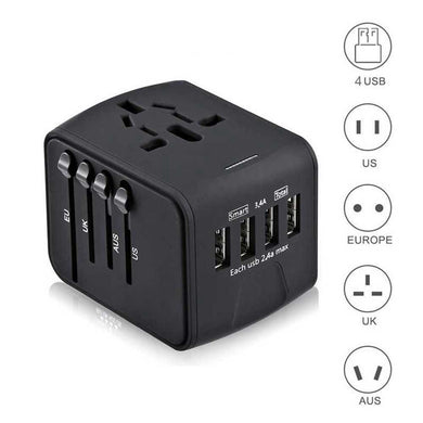 Universal Travel USB Adapter-All in one Worldwide Travel USB adapter(50% Off & Free shipping worldwide) - Wonder-mart.com