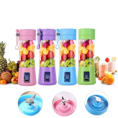 Mini Portable USB Rechargeable Electric Juicer Grinder Blender Mixer