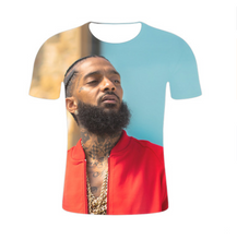 Load image into Gallery viewer, Nipsey Hussle American Rap Rap Singer Trend Short Sleeve 3D T-Shirt