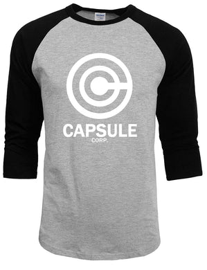 Capsul Corp Long Sleeve T-shirt Three-quarter Sleeve