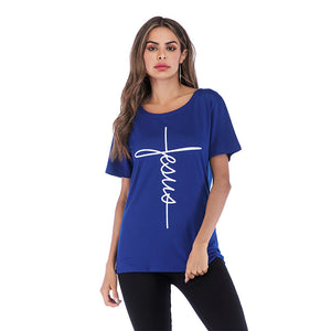 "Women's T-Shirt ""Jesus"""