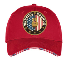 Load image into Gallery viewer, Warrior Rounds Hat- Red, Blue, White