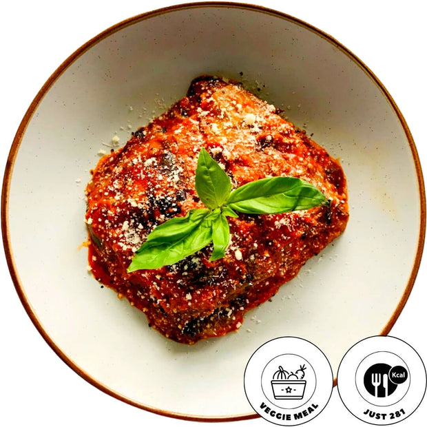 ggplants parmigiana, low in kcal, cooked healthy, Italian traditional recipe