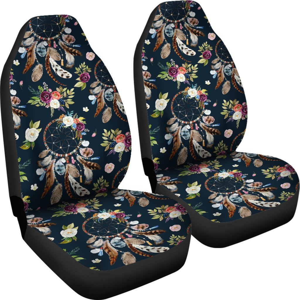 Dream Catcher Feather Boho Seat Cover Car Seat Covers Set ...