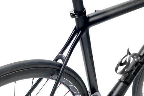 Legend by Marco Bertoletti - HT 10.0 Disc Bespoke Built Carbon Bicycle Frame and Carbon Fork