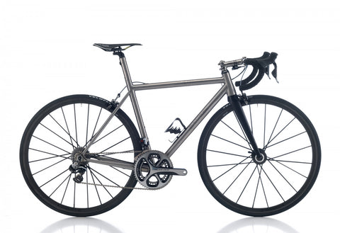 Legend by Marco Bertoletti - 'Queen FTi' Bespoke Built Titanium Bicycle Frame and Carbon Fork
