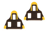 Shimano SPD-SL Yellow Floating Cleats (Pair)