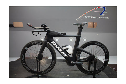 Parlee TTir Disc Brake Triathlon/Time Trial Carbon Fibre Frame, Fork, Seat Post and Bars