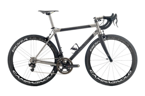 Legend by Marco Bertoletti - 'Venticinquesimo' Bespoke Built Titanium and Carbon Bicycle Frame and Carbon Fork