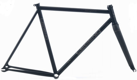 Legend by Marco Bertoletti - Bergamo Bespoke Built Steel Bicycle Frame and Carbon Fork