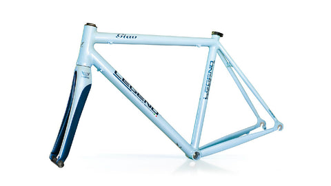 Legend by Marco Bertoletti - Giau Bespoke Built Aluminium Bicycle Frame and Carbon Fork