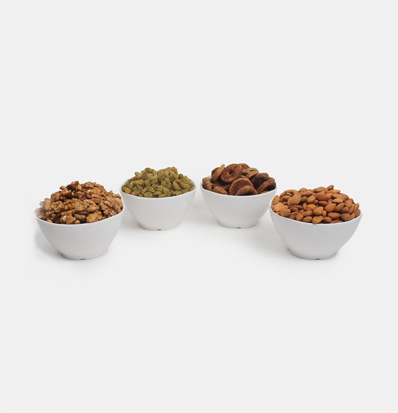 Premium Golden Pack of Ghorbandi Almonds, Green Raisin, Fig And Walnut