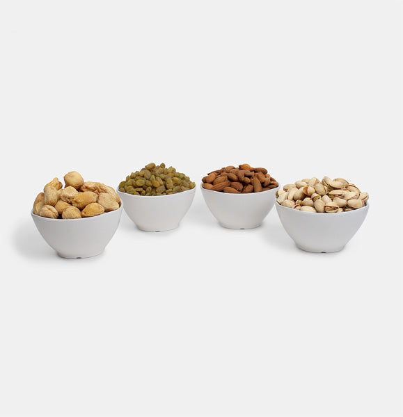 Premium Golden Pack of Normal Mamra, Green Raisin, Pista And  Dry Apricot