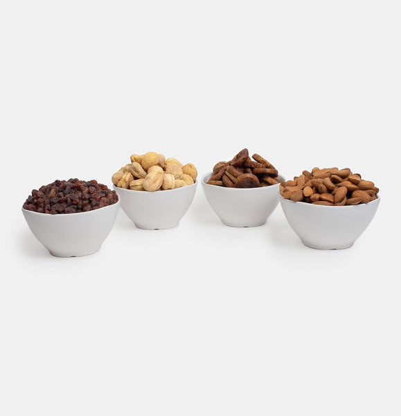 Premium Golden Pack of Normal Mamra, Red Raisin, Fig And Dry Apricot