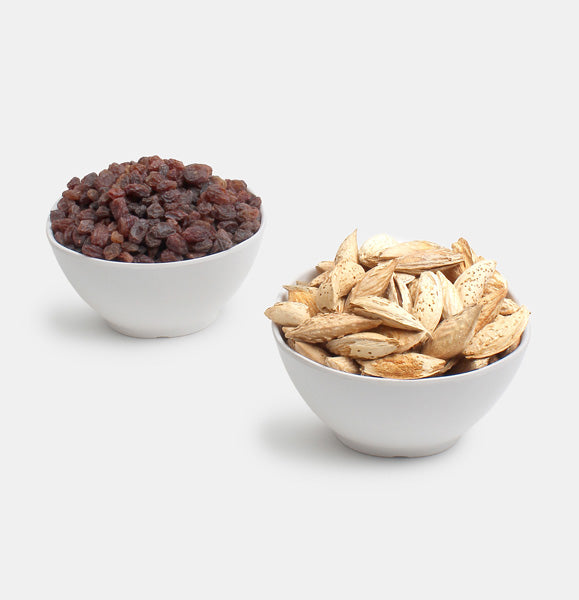Premium Value Pack of Kaghazi Almond And Red Raisin