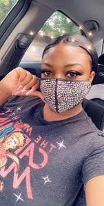 Pretty Girl Hustle Bling Masks