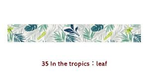 Dailylike In the Tropics Masking Tape | Tropical Plants Washi Tape - shop Stationery & Gifts store online