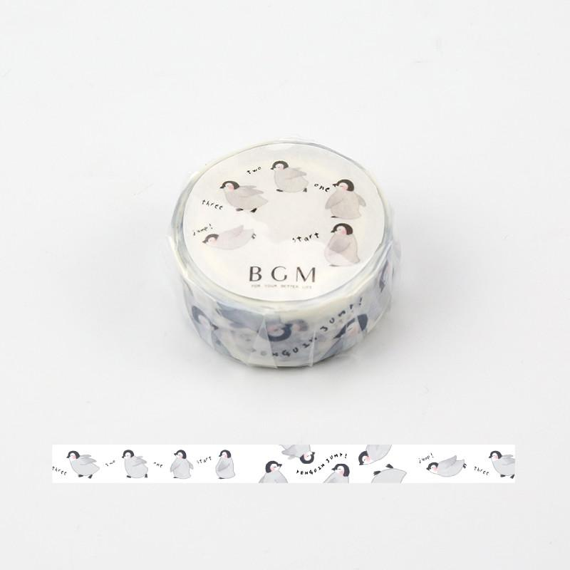 BGM Cute Penguin Washi Tape - shop Stationery & Gifts store online
