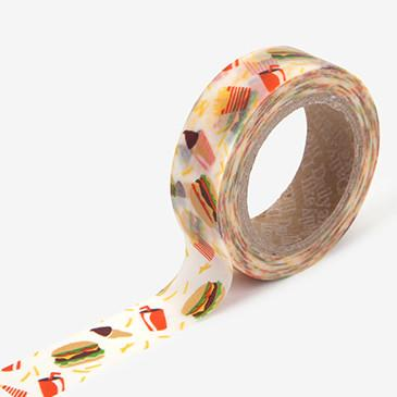 Dailylike Hamburger Masking Tape | Yummy Food Washi Tape - shop Stationery & Gifts store online
