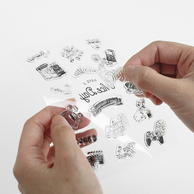 BGM Letter-Writing Clear Stamp Silicone Stamp - Letter - shop Stationery & Gifts store online