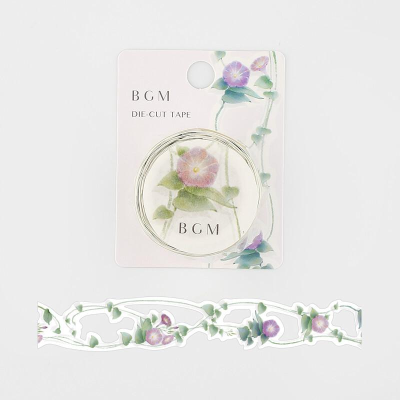 BGM Die-Cut Floral Lace Washi Tape - Europe Morning glory - shop Stationery & Gifts store online