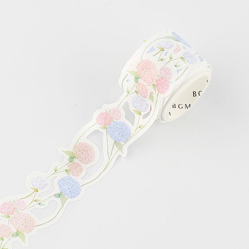 BGM Die-Cut Floral Lace Washi Tape - Europe Hydrangea - shop Stationery & Gifts store online