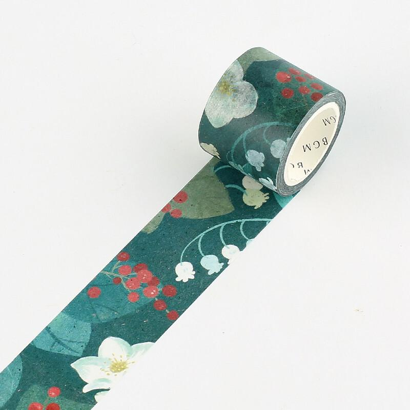 BGM Floral Washi Tape - Lily Of The Valley - shop Stationery & Gifts store online