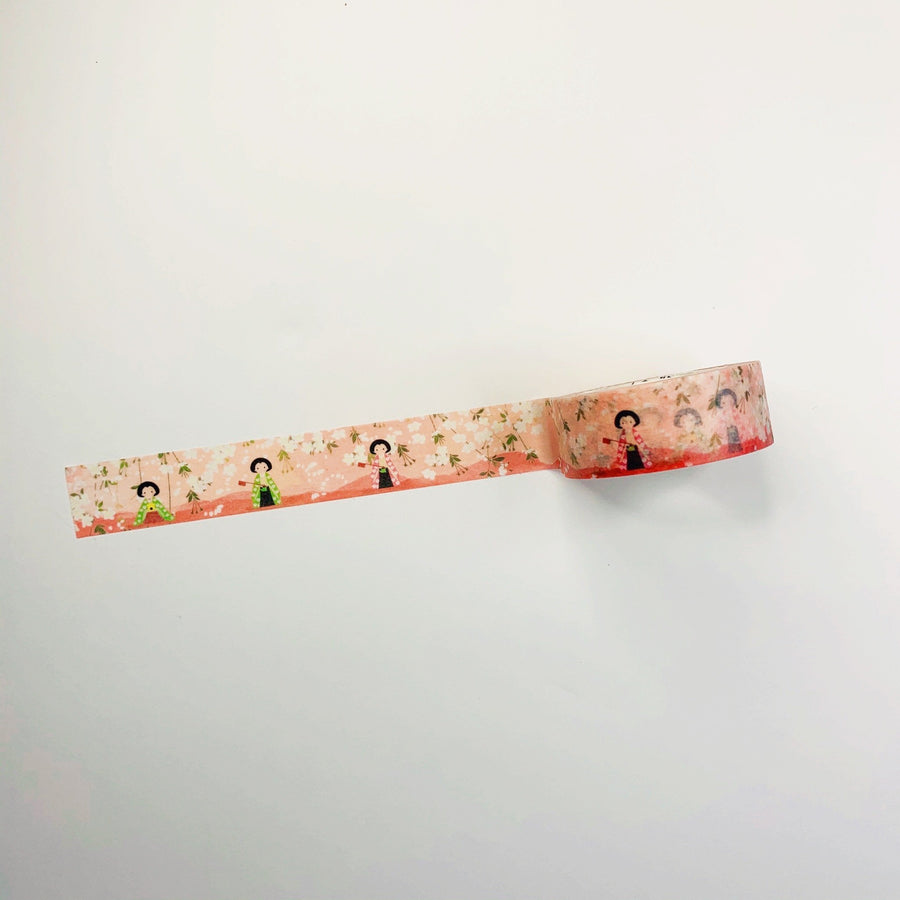 Japanese Cherry Blossom Festival Masking Tape - shop Stationery & Gifts store online