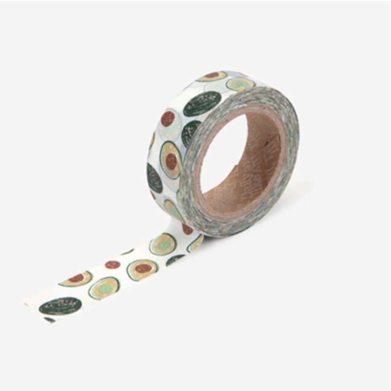 Cute Avocado Washi Tape - shop Stationery & Gifts store online
