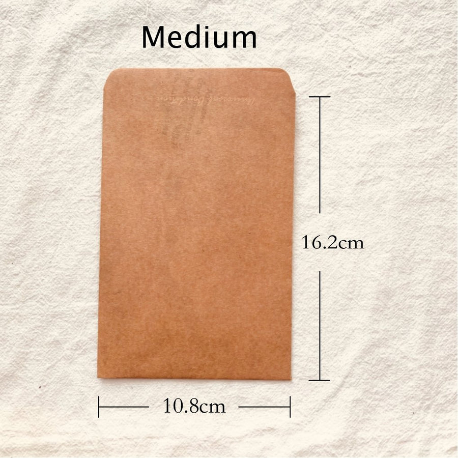 Vintage Style Multipurpose Kraft Paper Envelopes Set of 5 - shop Stationery & Gifts store online